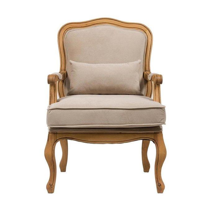 Кресло Bella Cera Бежевый Вельвет