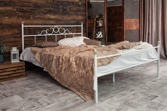 Кованая кровать Сандра 1.4 с одной спинкой 140х200