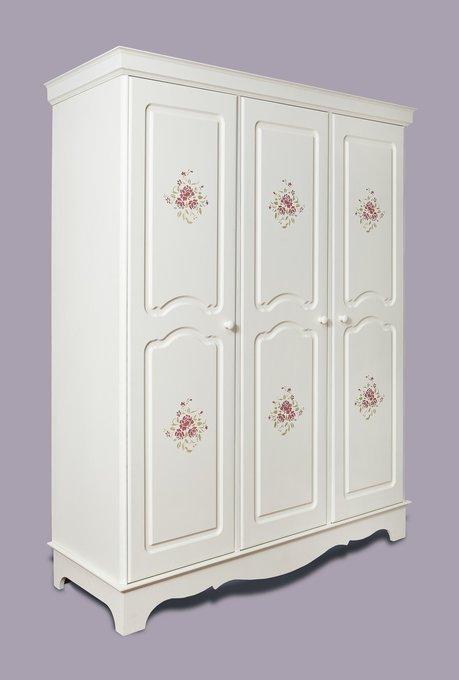 Шкаф трехстворчатый Belle Fleur Patine с патиной