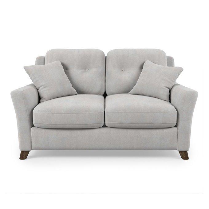 Диван-кровать Raf MT двухместный серого цвета