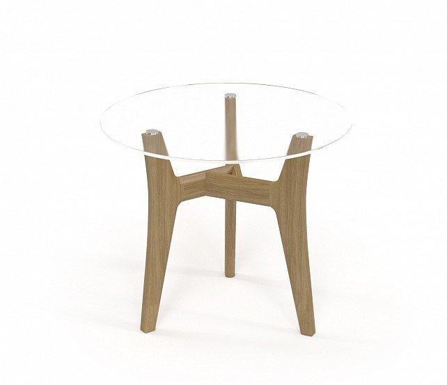 Кофейный столик Voyage со стеклянной столешницей