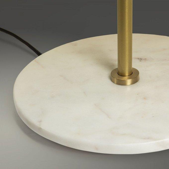 Настольная лампа Binary с мраморной подставкой