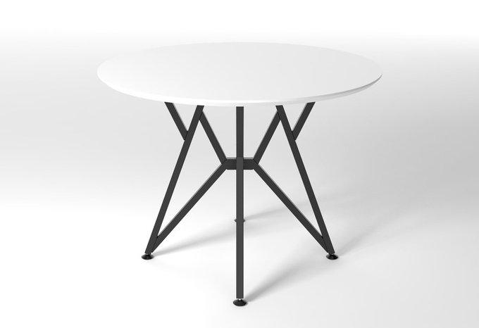 Круглый обеденный стол Voca Web белый