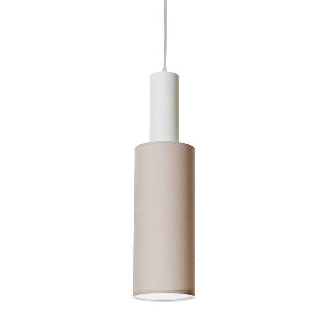 Подвесной светильник Roller с кремовым абажуром
