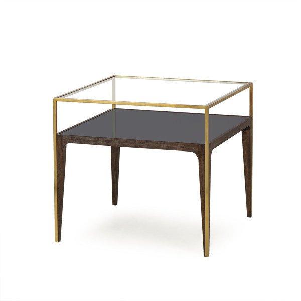 Кофейный столик Silhouette со стеклянной столешницей