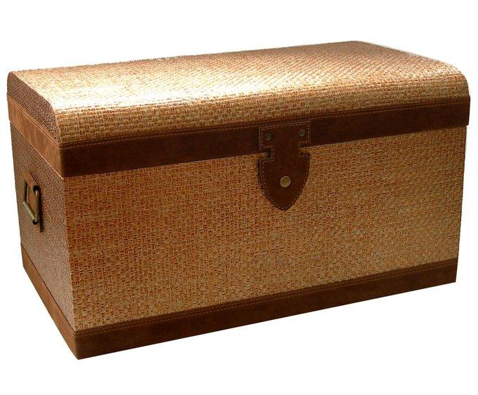 Ящик с золотистым покрытием