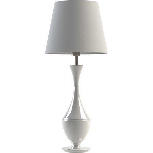 Настольная лампа Aries белая