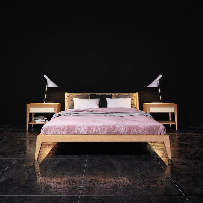 Кровать Fly из массива дуба 160х200 см