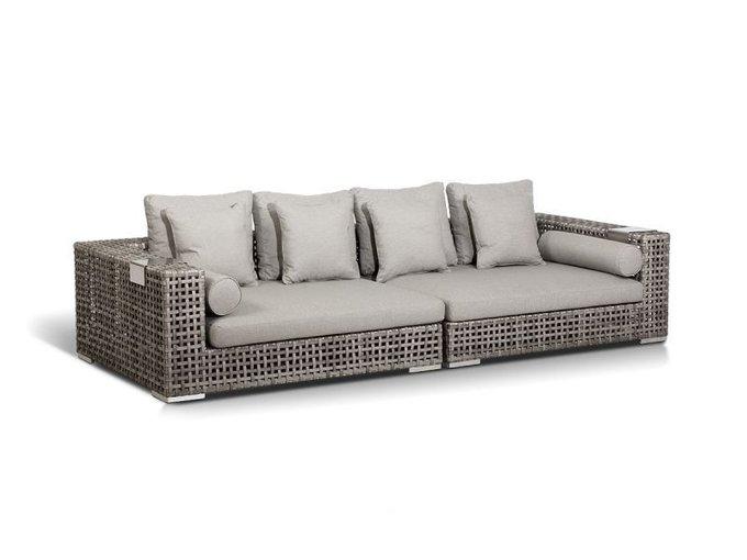 Модульный диван Канти из искусственного ротанга