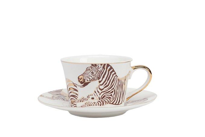 Чайная пара Cebra