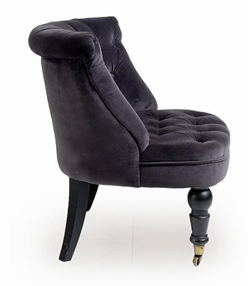 Кресло Мока Bouji Chair дизайн 14 темно-серого цвета
