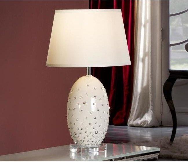 Настольная лампа Schuller Vera с белым абажуром