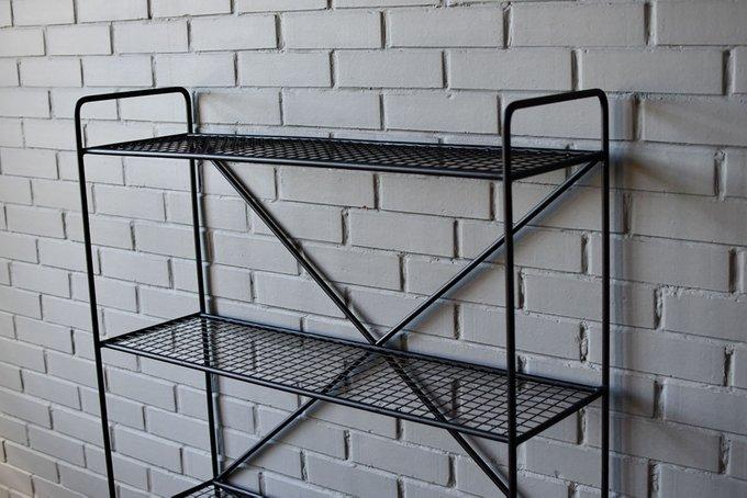 Стеллаж Rack Sticks Metall черного цвета