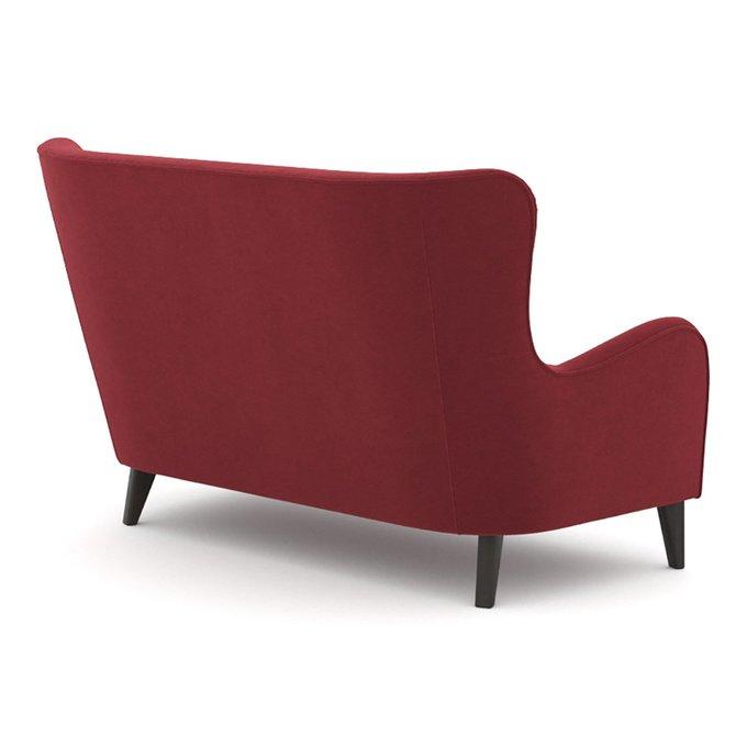 Диван двухместный Montreal (156 см) красного цвета