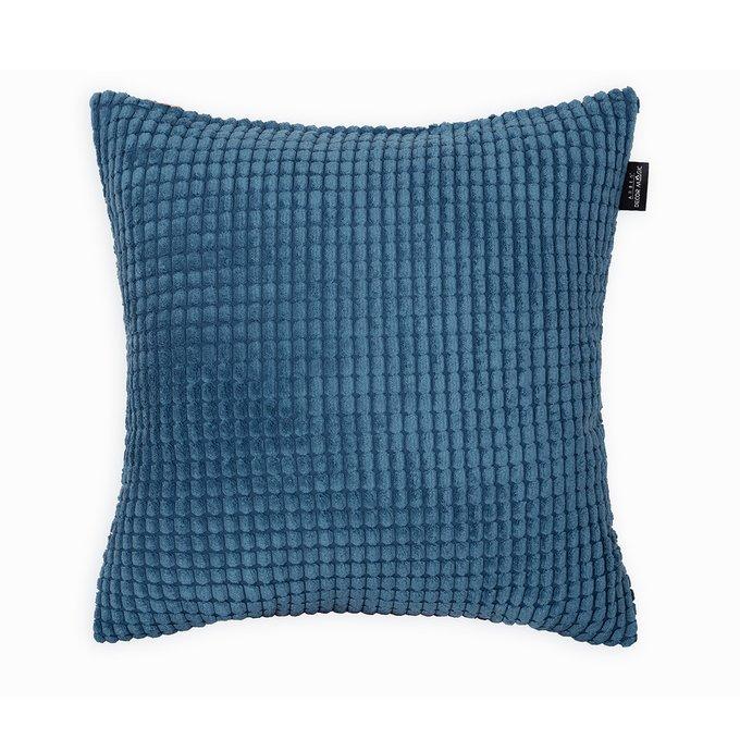 Декоративная подушка Civic Blue синего цвета