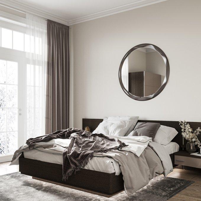 Кровать Элеонора 160х200 черного цвета и подъемным механизмом