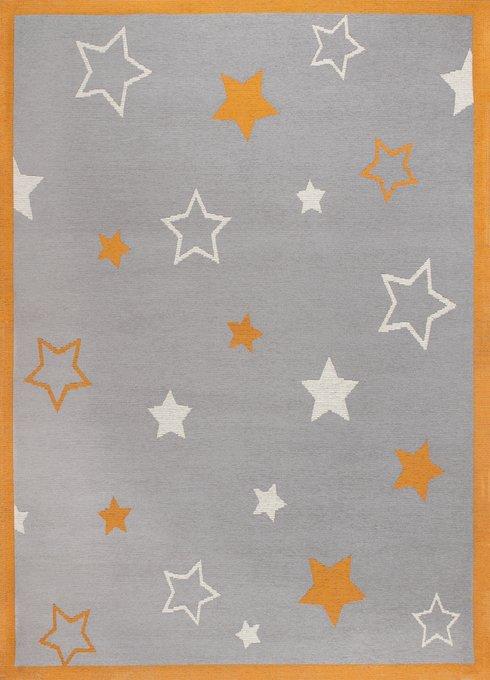Ковер Time Star из полиэстера и хлопка 120x180