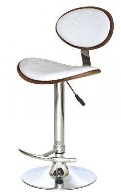 Барный стул Самуэль с сидением из экокожи