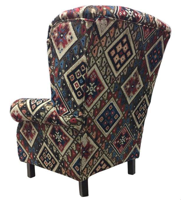 Кресло Келим с пёстрым восточным орнаменто