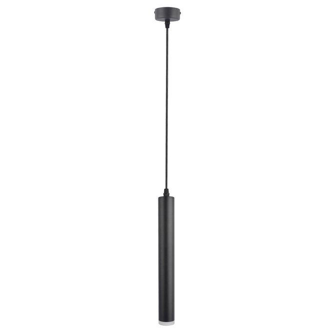 Подвесной светодиодный светильник черного цвета