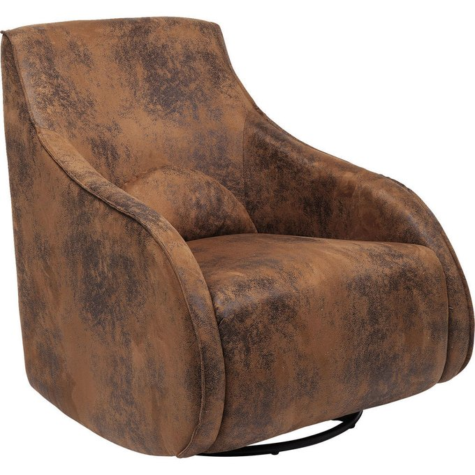 Кресло-качалка Ritmo коричневого цвета