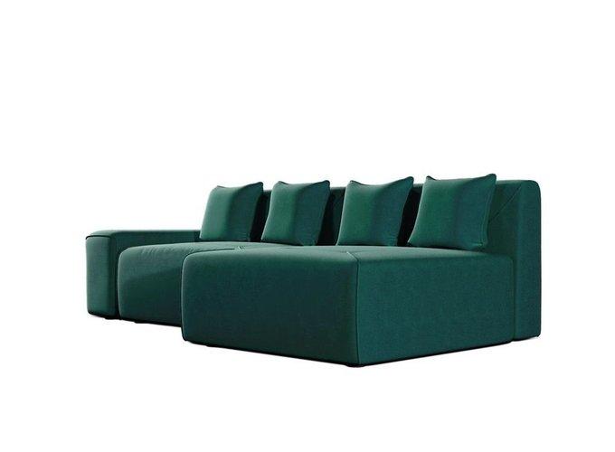 Диван-кровать Portu зеленого цвета