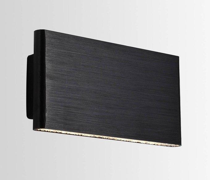 Настенный светильник Aero черного цвета