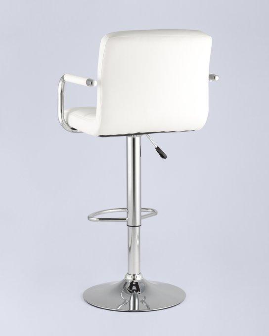 Барный стул Малави белого цвета