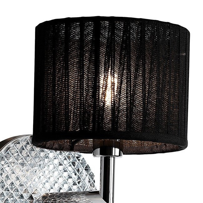 Настенный светильник Fabbian DIAMOND SWIRL с хрустальным элементом