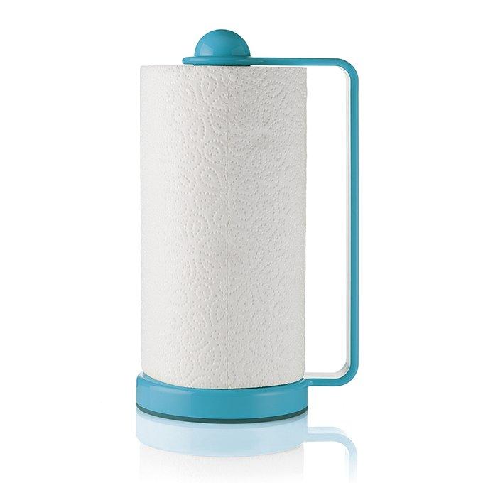 Держатель для бумажных полотенец Forme Casa голубого цвета