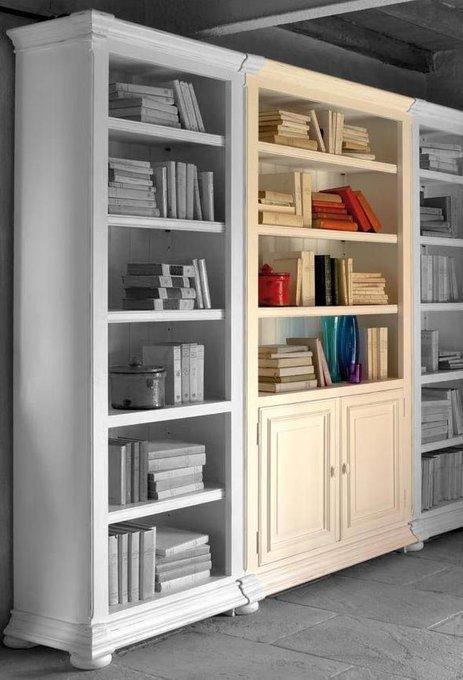 Шкаф книжный Нордик с дверцами