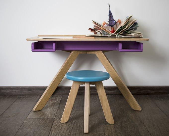 "Стол-мольберт MOONK ""Malevich"" фиолетовый 1.5-5 лет"
