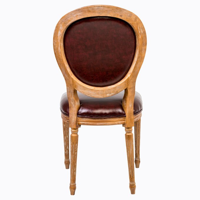 Стул Мистер Куршавель с сиденьем и спинкой из экокожи