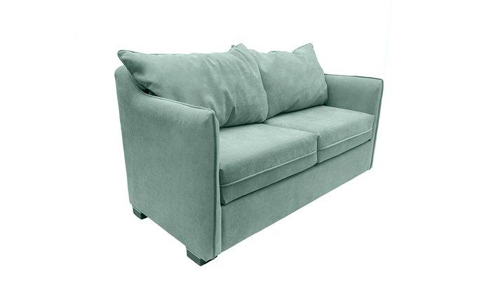 Прямой диван Arthur S зеленого цвета
