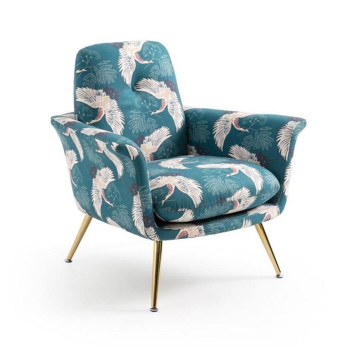 Кресло Elori с принтом в восточном стиле