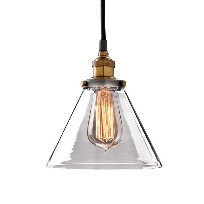 Подвесной светильник Factory Filament со стеклянным плафоном