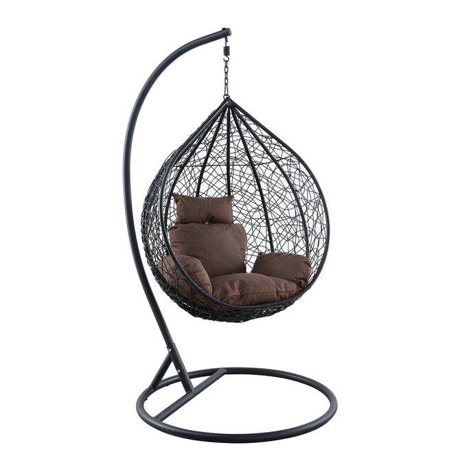 Подвесное кресло Kokos small из искусственного ротанга