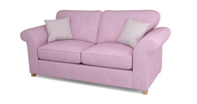 Двухместный раскладной диван Angelic розовый