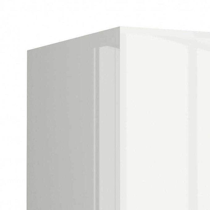 Шкаф распашной Piano белого цвета