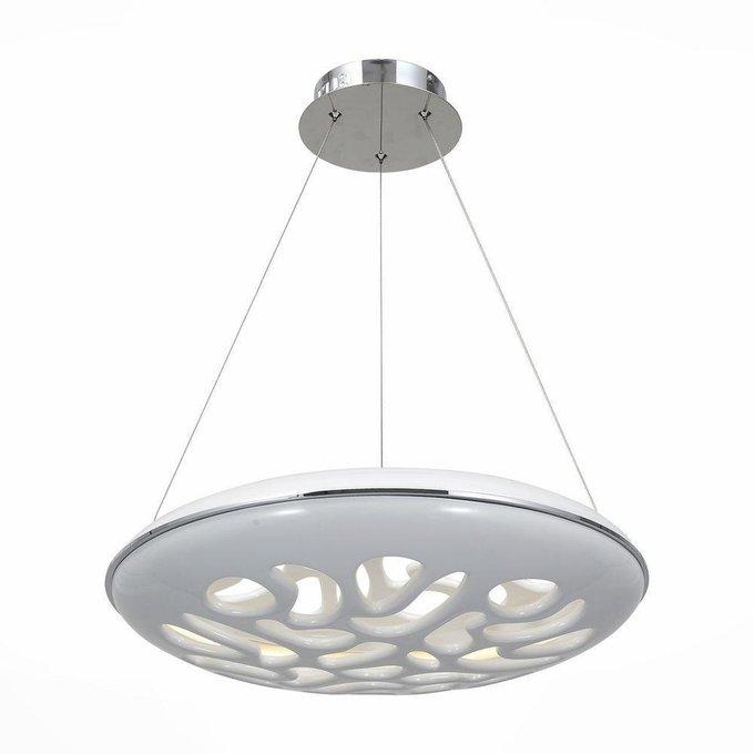 Подвесной светодиодный светильник Galatea белого цвета