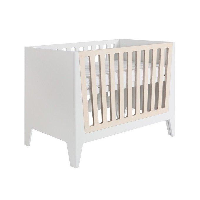 Кровать детская Nikki Natural со вставками из дуба