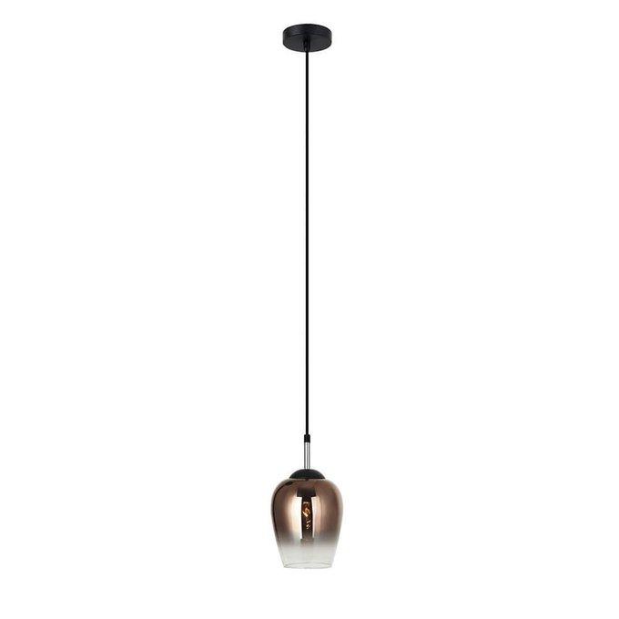 Подвесной светильник Меган янтарного цвета