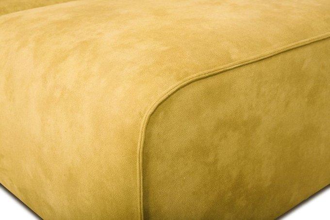 Диван угловой Industrial Loft желтого цвета