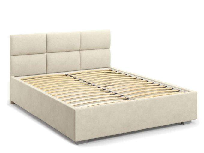 Кровать Bolsena без подъемного механизма 180х200 бежевого цвета