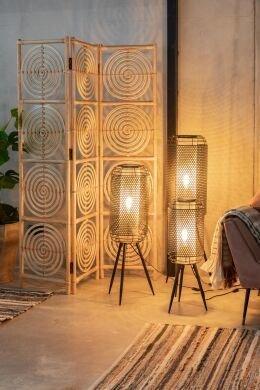 Лампа напольная Archer L цвета латуни