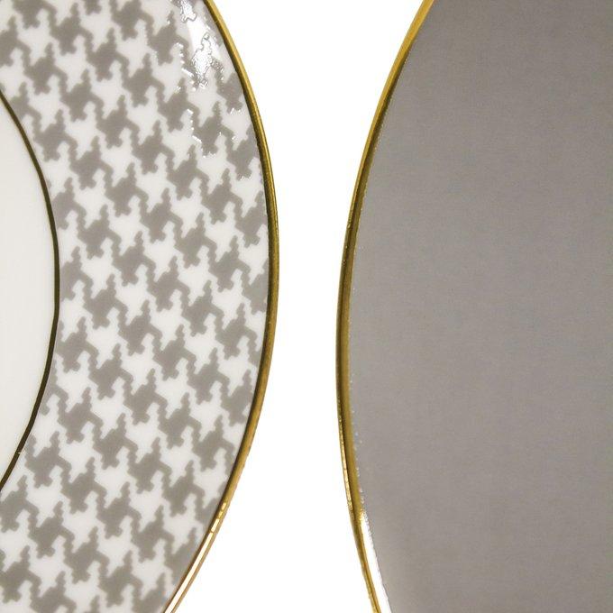 Набор из двух тарелок Siera из качественного фарфора
