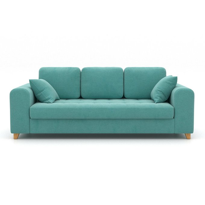 Диван-кровать Vittorio EKL L голубого цвета