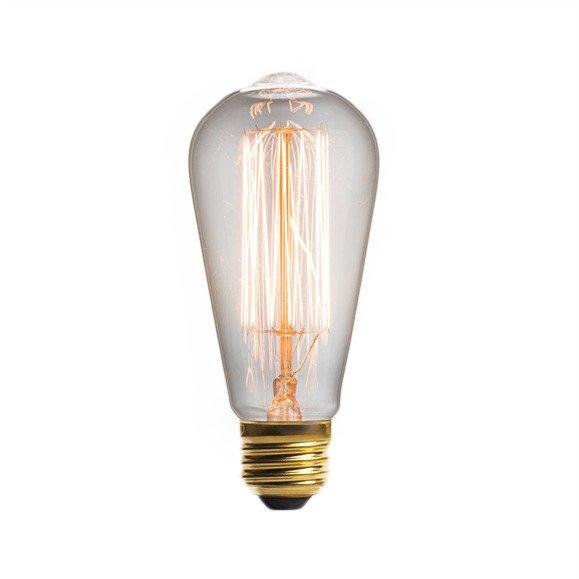 Винтажная лампа Эдисон Steeple Squirrel Cage