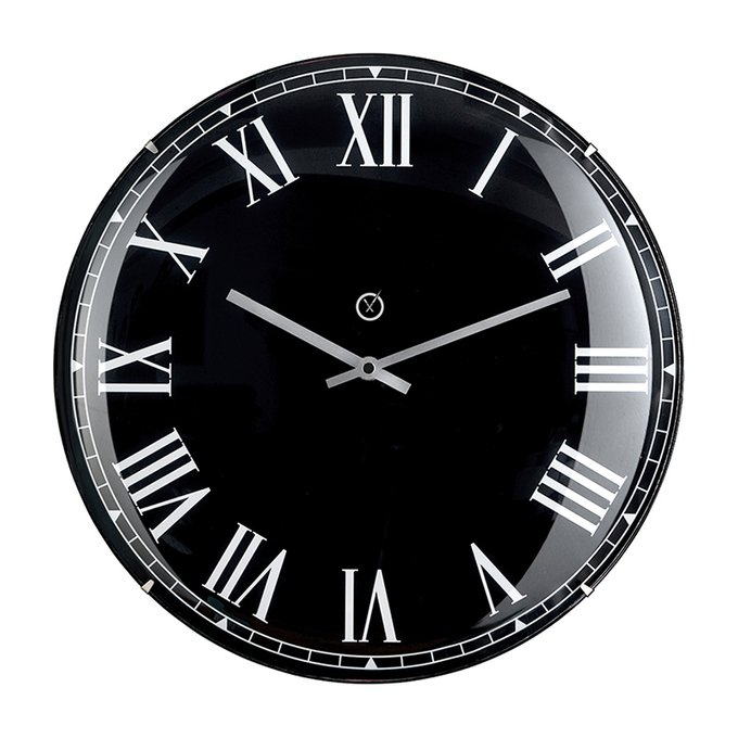 Настенные часы Lima черного цвета