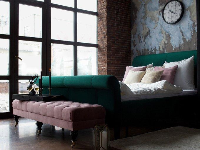 Кровать Lounge красного цвета 160х200